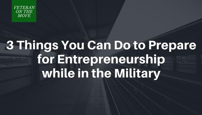Prepare for Entrepreneurship