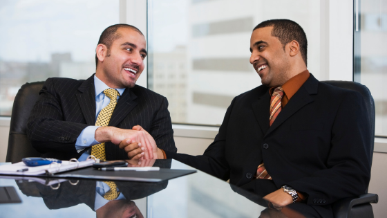 Taking a Partner in Business