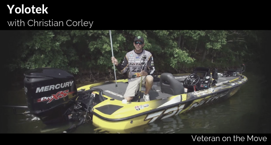 Christian Corley Veteran on the Move