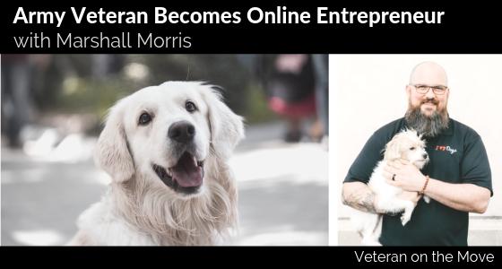 Marshall Morris, Veteran on the Move