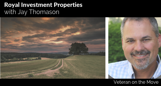 Jay Thomason, Veteran on the Move