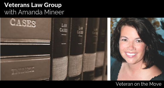 Amanda Mineer, Veteran on the Move