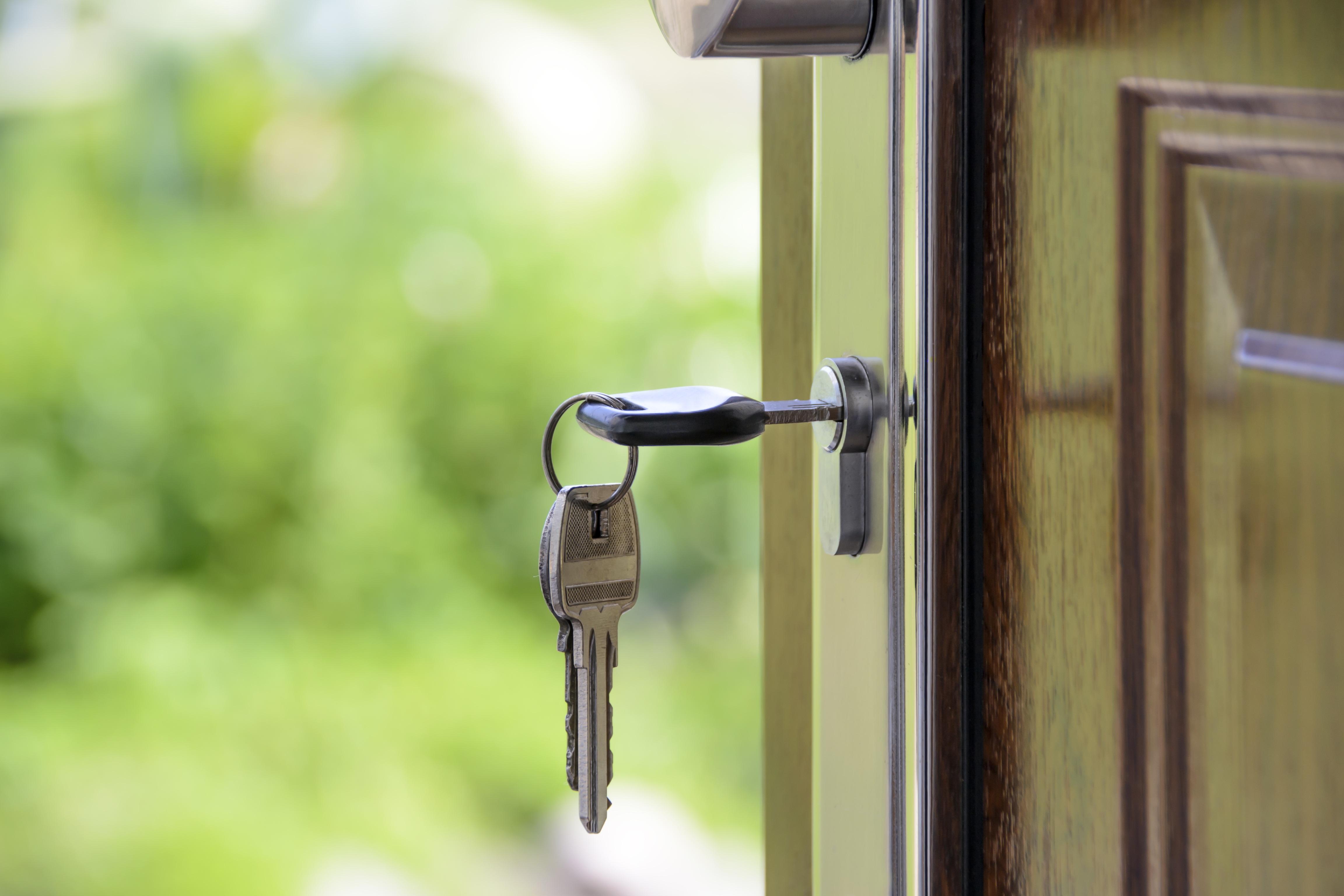 Canva - Keys Left on the Door