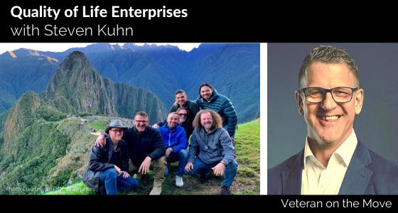 Steven Kuhn, Veteran on the Move