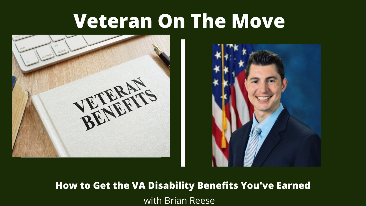 Brian Reese, Veteran On The Move