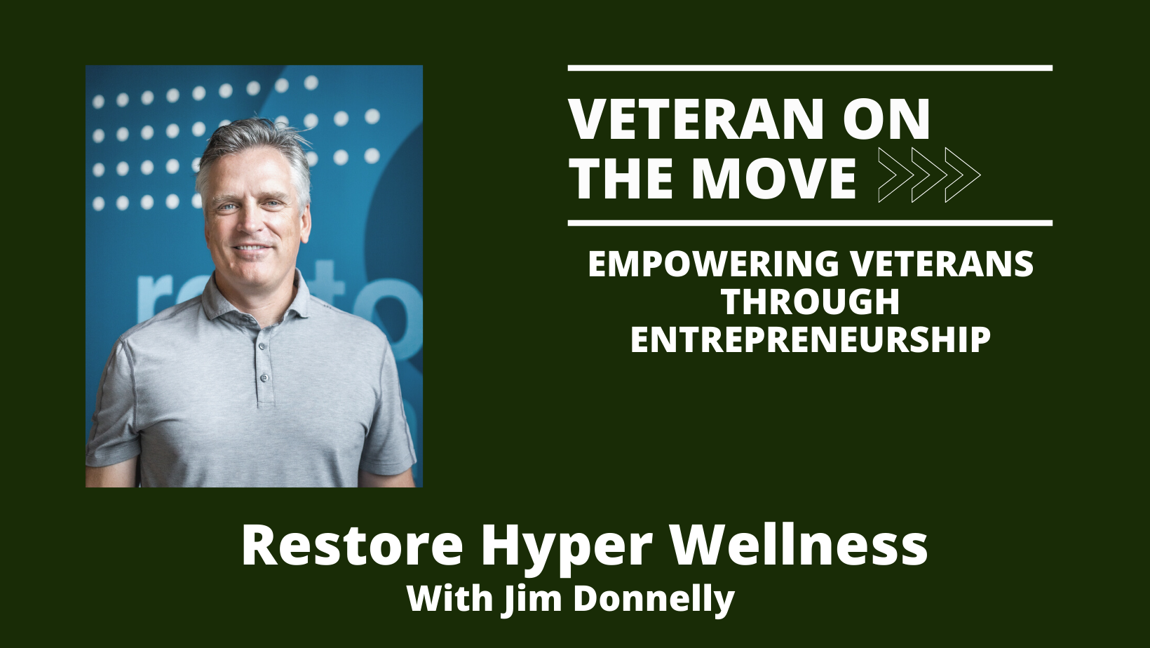 Jim Donnelly, Veteran On The Move