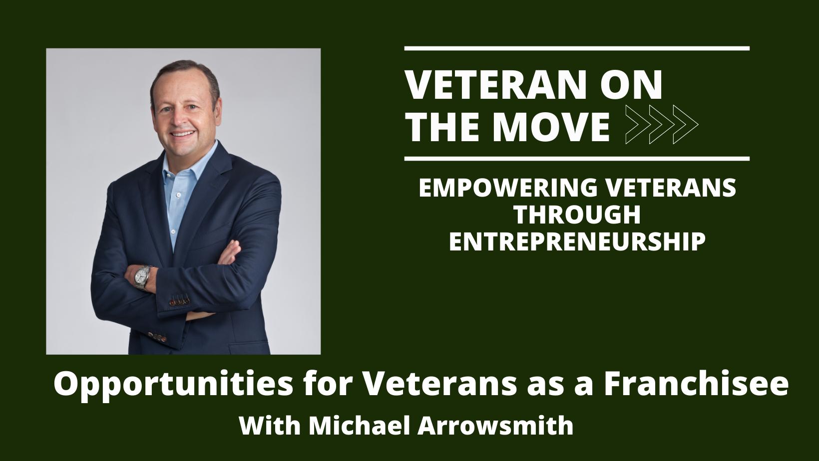 Michael Arrowsmith, Veteran On The Move