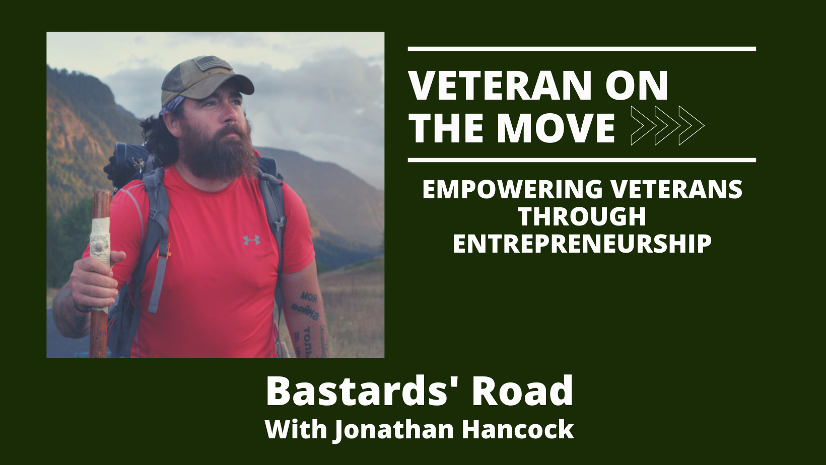 Jonathan Hancock. Veteran On The Move