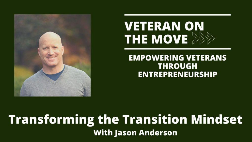 Veteran On The Move, Jason Anderson