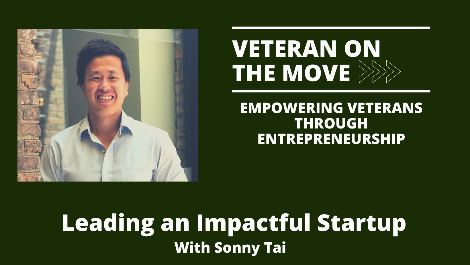Sonny Tai, Veteran On The Move