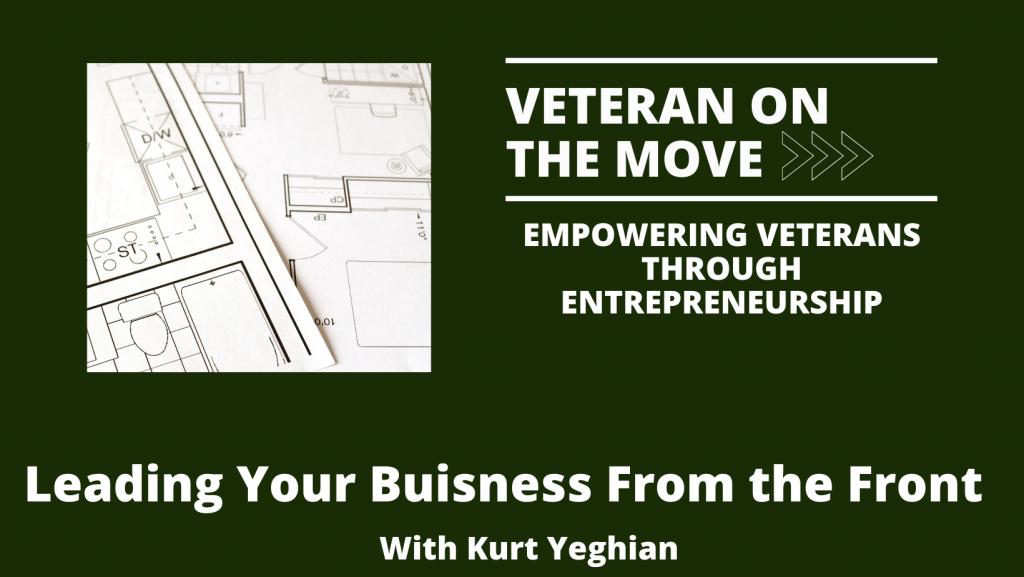 Kurt Yeghian, Veteran On The Move